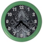 Reichstag Berlin Building Bundestag Color Wall Clocks Front