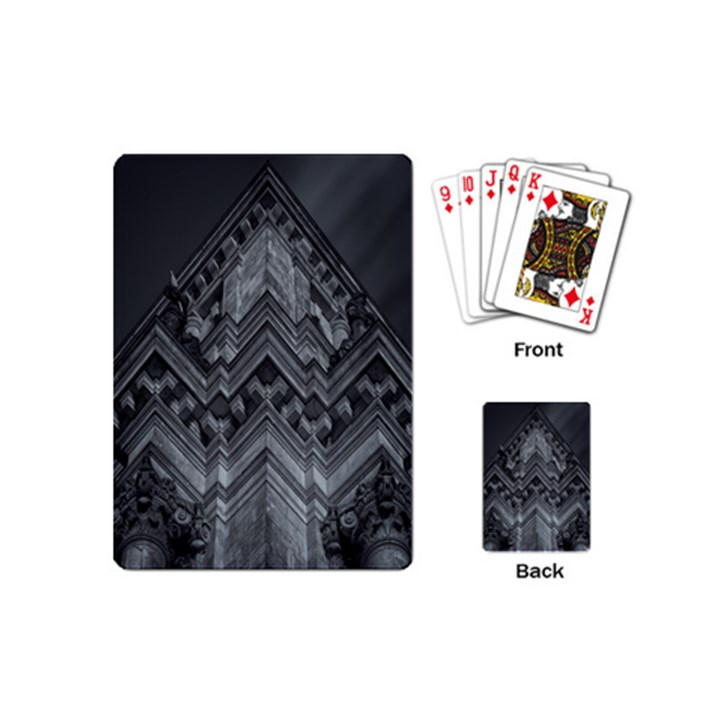Reichstag Berlin Building Bundestag Playing Cards (Mini)