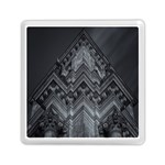 Reichstag Berlin Building Bundestag Memory Card Reader (Square)  Front