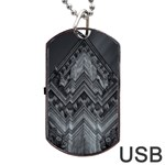 Reichstag Berlin Building Bundestag Dog Tag USB Flash (Two Sides)  Front