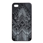 Reichstag Berlin Building Bundestag Apple iPhone 4/4s Seamless Case (Black) Front