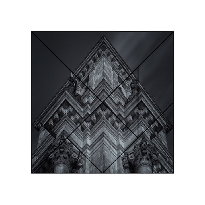 Reichstag Berlin Building Bundestag Acrylic Tangram Puzzle (4  x 4 )