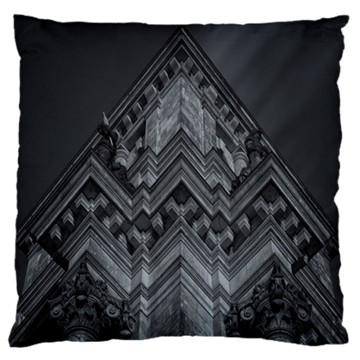 Reichstag Berlin Building Bundestag Large Flano Cushion Case (Two Sides)