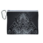 Reichstag Berlin Building Bundestag Canvas Cosmetic Bag (L) Front