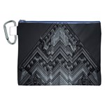 Reichstag Berlin Building Bundestag Canvas Cosmetic Bag (XXL) Front