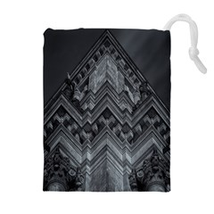 Reichstag Berlin Building Bundestag Drawstring Pouches (Extra Large)
