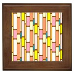 Retro Blocks Framed Tiles Front