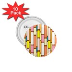 Retro Blocks 1.75  Buttons (10 pack) Front