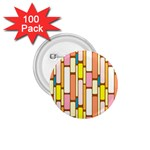 Retro Blocks 1.75  Buttons (100 pack)  Front
