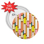 Retro Blocks 2.25  Buttons (100 pack)  Front