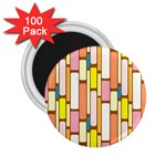 Retro Blocks 2.25  Magnets (100 pack)  Front