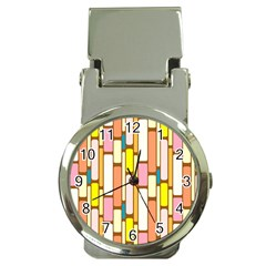 Retro Blocks Money Clip Watches