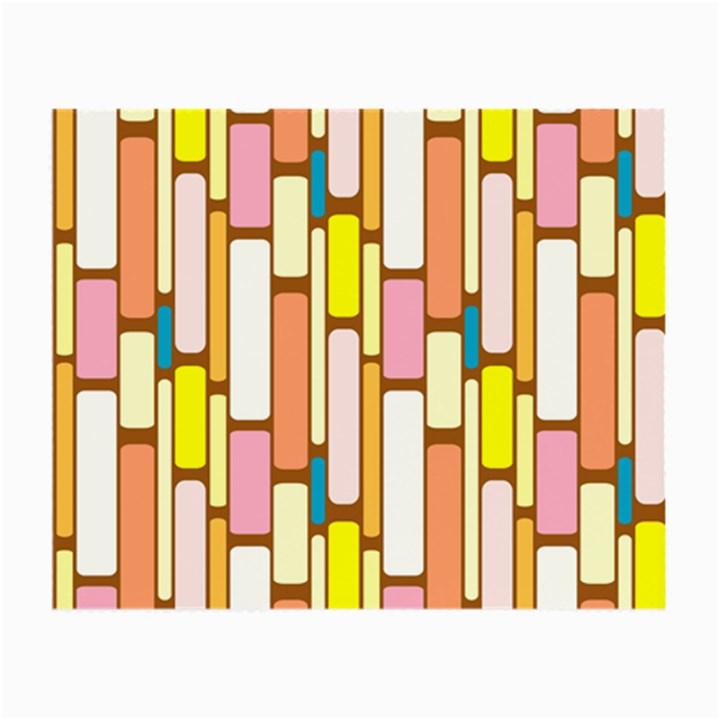 Retro Blocks Small Glasses Cloth (2-Side)
