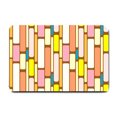 Retro Blocks Small Doormat
