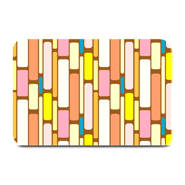 Retro Blocks Plate Mats