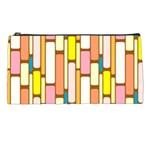 Retro Blocks Pencil Cases Front