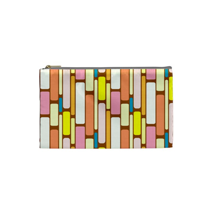 Retro Blocks Cosmetic Bag (Small)
