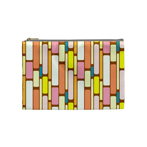 Retro Blocks Cosmetic Bag (Medium)
