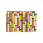 Retro Blocks Cosmetic Bag (Medium)  Back