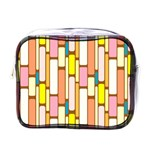 Retro Blocks Mini Toiletries Bags Front