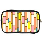 Retro Blocks Toiletries Bags Front