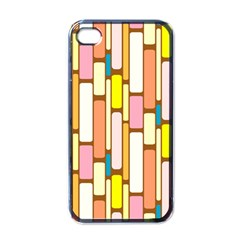 Retro Blocks Apple iPhone 4 Case (Black)