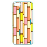 Retro Blocks Apple Seamless iPhone 5 Case (Color) Front