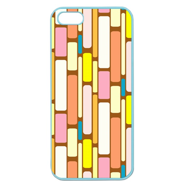 Retro Blocks Apple Seamless iPhone 5 Case (Color)