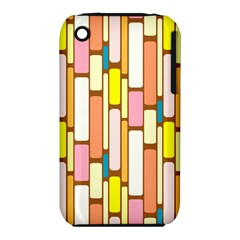 Retro Blocks Apple iPhone 3G/3GS Hardshell Case (PC+Silicone)