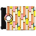 Retro Blocks Kindle Fire HD Flip 360 Case Front