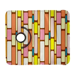Retro Blocks Samsung Galaxy S  III Flip 360 Case