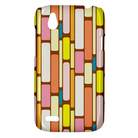 Retro Blocks HTC Desire V (T328W) Hardshell Case