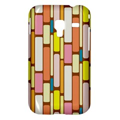 Retro Blocks Samsung Galaxy Ace Plus S7500 Hardshell Case