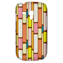 Retro Blocks Samsung Galaxy S3 MINI I8190 Hardshell Case