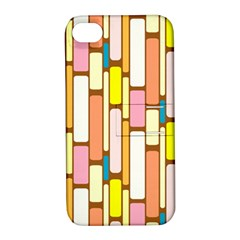 Retro Blocks Apple iPhone 4/4S Hardshell Case with Stand