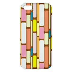 Retro Blocks Apple iPhone 5 Premium Hardshell Case