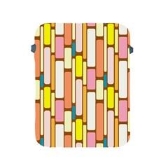 Retro Blocks Apple iPad 2/3/4 Protective Soft Cases