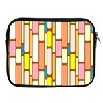 Retro Blocks Apple iPad 2/3/4 Zipper Cases Front