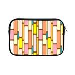 Retro Blocks Apple iPad Mini Zipper Cases Front