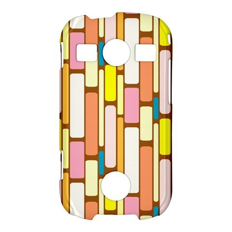 Retro Blocks Samsung Galaxy S7710 Xcover 2 Hardshell Case