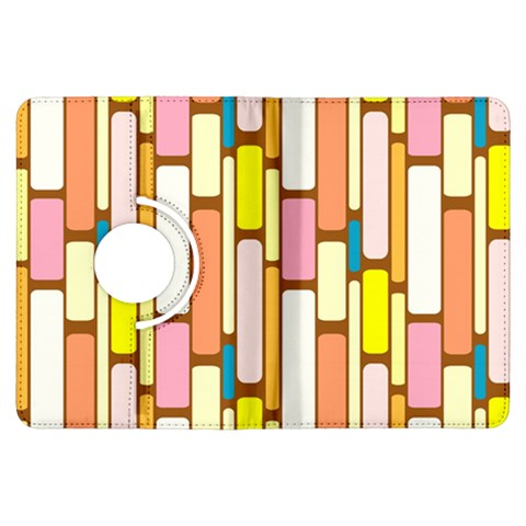 Retro Blocks Kindle Fire HDX Flip 360 Case