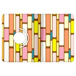 Retro Blocks Kindle Fire HDX Flip 360 Case Front