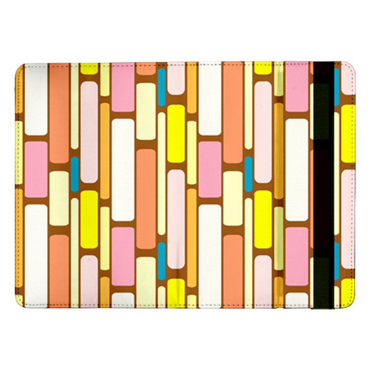 Retro Blocks Samsung Galaxy Tab Pro 12.2  Flip Case