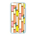 Retro Blocks Apple Seamless iPhone 6/6S Case (Color) Front
