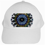 Rose Window Strasbourg Cathedral White Cap Front