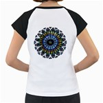 Rose Window Strasbourg Cathedral Women s Cap Sleeve T Back