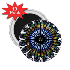 Rose Window Strasbourg Cathedral 2.25  Magnets (10 pack)
