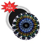 Rose Window Strasbourg Cathedral 2.25  Magnets (10 pack)  Front