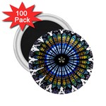 Rose Window Strasbourg Cathedral 2.25  Magnets (100 pack)  Front