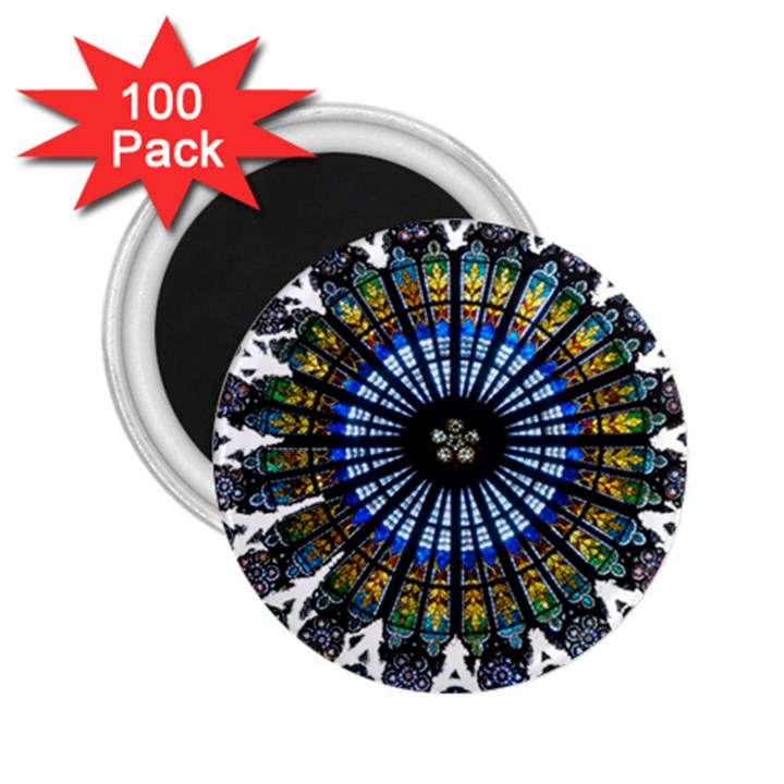 Rose Window Strasbourg Cathedral 2.25  Magnets (100 pack)